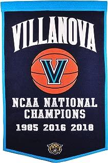 NCAA Villanova Wildcats 2018 NCAA Championship Dynasty Banner