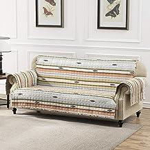 غطاء منزلق بتصميم صحراوي مطبوع منزلي، أريكة، باللون الوردي من جرين لاند