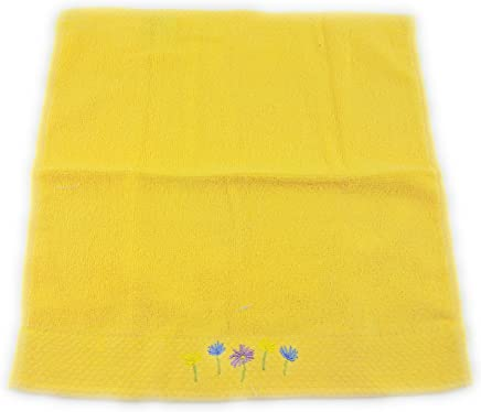 Duke Stevens Yellow Daisy Floral Wash Cloth