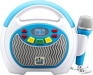 eKids Mother Goose Club Bluetooth Sing Along Portable MP3 Player Real Mic 24 Songs Storesup to 16 Hours of Music 1 GB Buil...