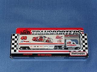 1992 NASCAR Matchbox Super Star . . . Ferree Chevrolet #49 Transporter Diecast Hauler . . . Limited Edition