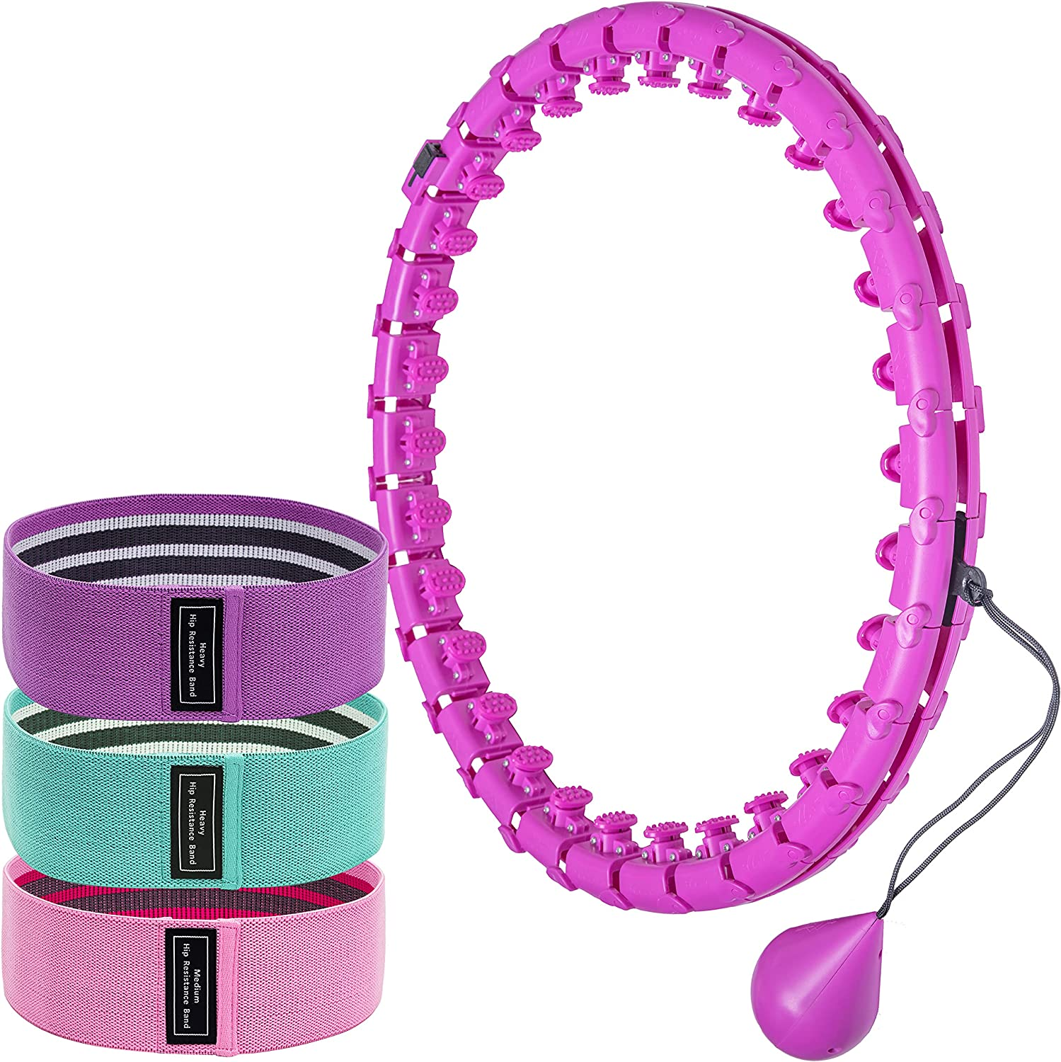Limited price sale Intelligent Hula Online limited product Hoop– 30 Size Sections Detachable Adjustable