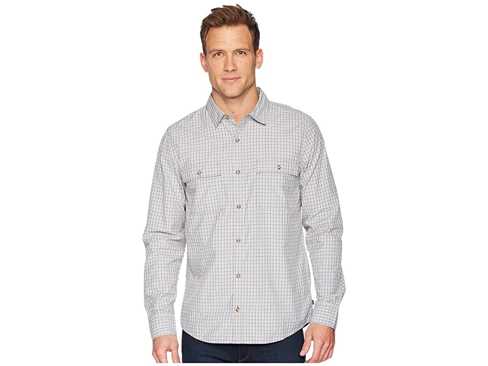 Toad&Co Debug Eddyline Long Sleeve Shirt (Light Ash) Men