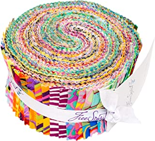 Kaffe Fassett Collective Fall 2018 Day Design Roll 40 Strips 2.5 by 44 inches