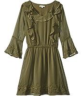 Bell Sleeve Dress (Big Kids)