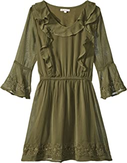 Bell Sleeve Dress (Big Kids)