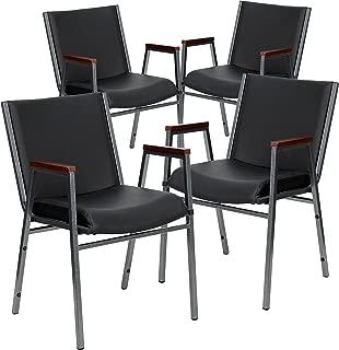 Best black vinyl dining chairs Reviews