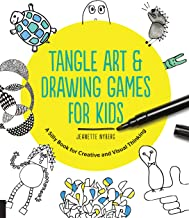Tangle Art and Drawing Games for Kids: A