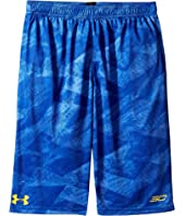 Under Armour Kids - Steph Curry 30 Essentials Print Shorts (Big Kids)