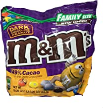 M&M's Dark Chocolate Peanut Family Size 19.2 oz