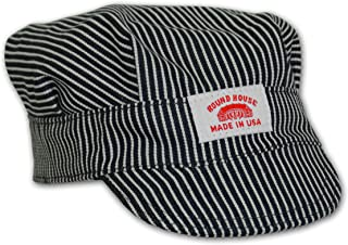 Round House Little Boys Train Conductor Engineer Hat Made in USA