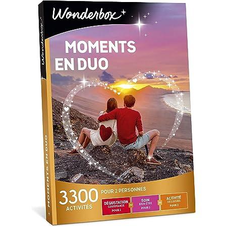 Wonderbox - Coffret cadeau - MOMENTS EN DUO – idée cadeau- 3300 activités à partager