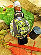 Enchanted Forest Roll On Perfume 10 ml, Fragrance Oil, Cedarwood, Sandalwood, Amber, Orange, Vanilla, Rose Petals, Aromatherapy, Woody Perfume