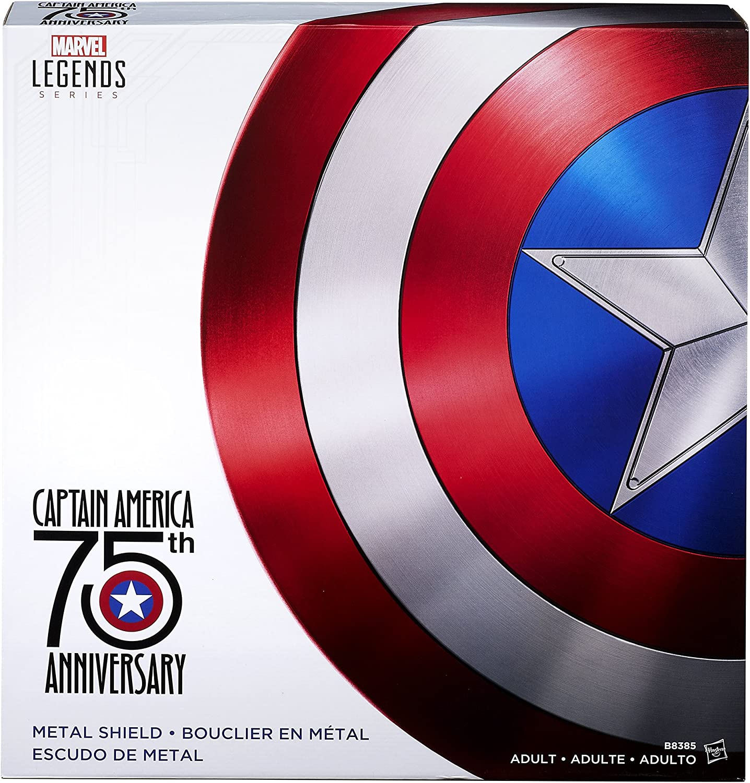 Marvel Legends Metallschild Captain America 20. Jahrestag Amazon ...