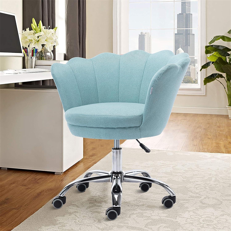SSLine Home ついに入荷 Office Chair Modern Fabric Living Room S Linen 数量限定アウトレット最安価格