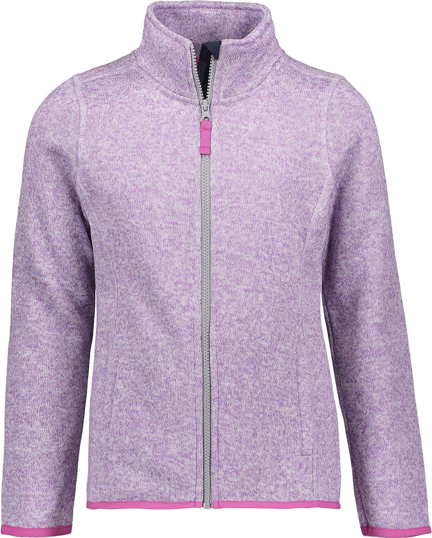 Chaps Girl's Louisville-Jefferson County Mall School Uniform Full Zip Max 72% OFF Fleece Sweater