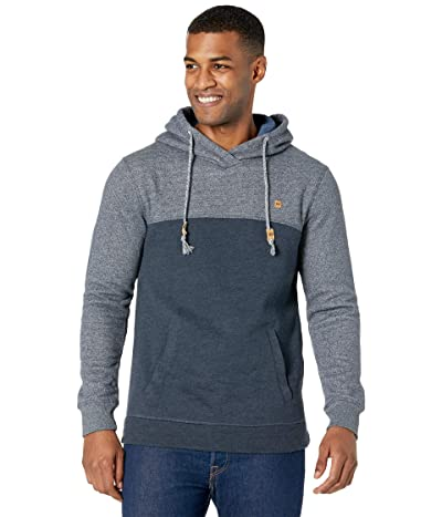 tentree Tahoe Hoodie (Dark Ocean Blue Heather/Dark Ocean Blue Marled) Men