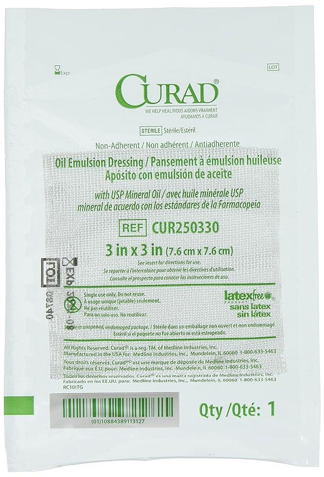 Curad Sterile Oil Emulsion Gauze Dressing 3