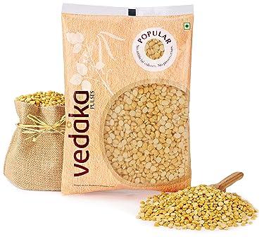 Amazon Brand - Vedaka Popular Chana Dal, 500g