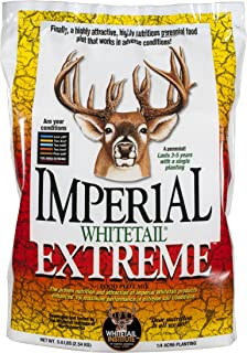 Whitetail Institute Imperial Extreme Food Plot Seed (Spring and Fall Planting), 5.6-Pound (.25 Acres)