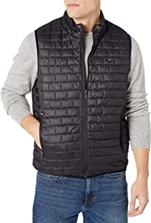 Tommy Hilfiger Men's Box Quilted Lightweight Ultra Loft Vest