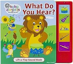 Baby Einstein - What Do You Hear? Sound Book - Pi Kids