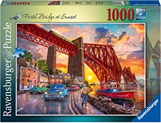 Ravensburger Forth Bridge at Sunset 1000 Piece Jigsaw Puzzle for Adults & Kids Age 12 Years Up