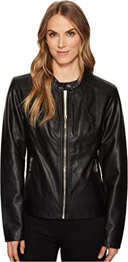 Ivanka Trump PU Jacket