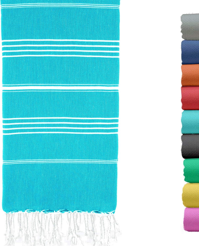 Quick Drying Peshtemal Hammam Towel for Beach, Bath, Yoga, Sauna