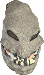 Party City Nightmare Before Christmas Oogie Boogie Mask Halloween Accessory for Teens and Adults, One Size Brown