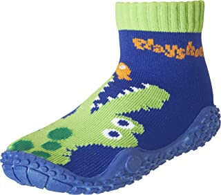 Playshoes Calcetines de Playa con Protección UV Cocodrilo,