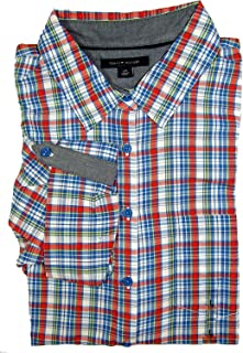 Tommy Hilfiger Womens Shirt Multi Strip (Large)