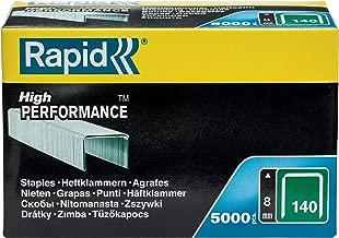 Rapid 11908111 PRO 140 140/8mm Heavy Duty Galvanised Staples (Box of 5000)