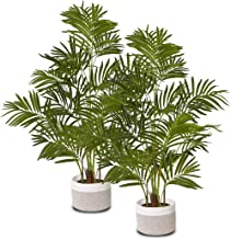 "ELPIDAN- Artificial Areca Palm Tree Plant Decor 47"", Fake Palm Tree Plants, Silk Faux House Plants Indoor Tree, Fake Plant..."