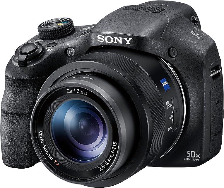 Sony DSC-HX350 Cámara Bridge BionZ X de 20.4 MP y Zoom 50x HDMI Negro