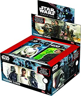 Topps D105813-DE2-D Star Wars Rogue One Trading Cards, Display Box with 50Booster Packs, 5Cards
