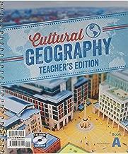 Cultural Geography Teacher 4th