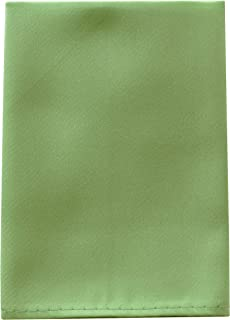 Mens Pocket Square Handkerchief in Solid Colors Sized for Boys and Men