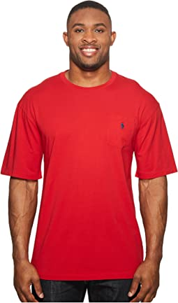 Big and Tall Classic Fit Crew Neck Pocket T-Shirt