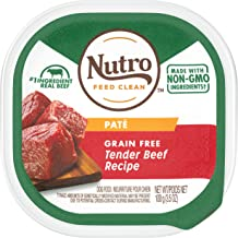 product image for Nutro Paté Grain Free Wet Dog Food Adult & Puppy, 3.5 oz Trays (Pack of 24)