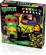 Cardinal Teenage Mutant Ninja Turtles Pixel Puzzle (350 Piece)