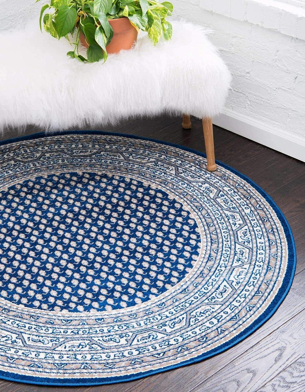 Unique Loom 1 year warranty 3129569 Area Rug Blue Navy Feet Gray Sacramento Mall 5