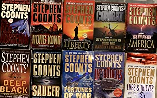 Stephen Coonts Action Novel Collection 8 Book Set
