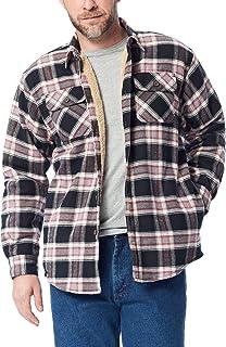 Wrangler Men's Flannel Shirt Jacket