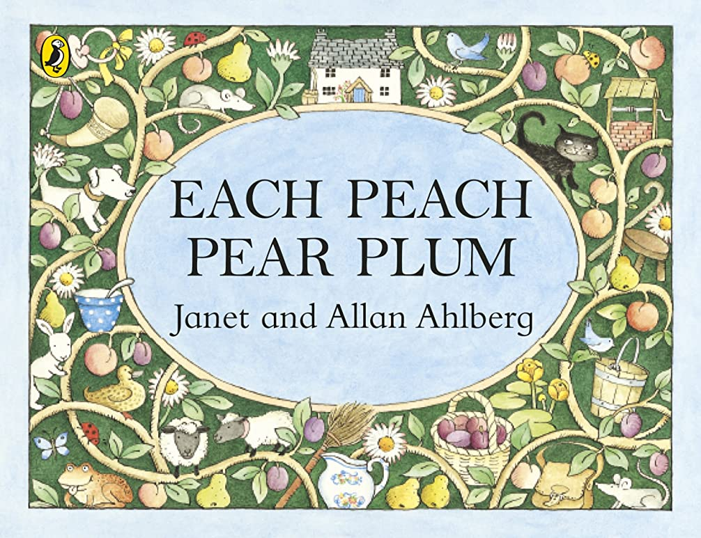 石出席崇拝しますEach Peach Pear Plum (Pocket Puffin) (English Edition)