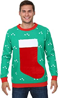 Fun Costumes 3D Christmas Stocking Ugly Christmas Sweater