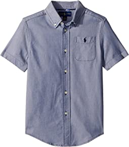 Polo Ralph Lauren Kids Performance Oxford Shirt (Little Kids/Big Kids)