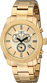Invicta Men's 17744 Specialty Analog Display Swiss Quartz Gold Watch