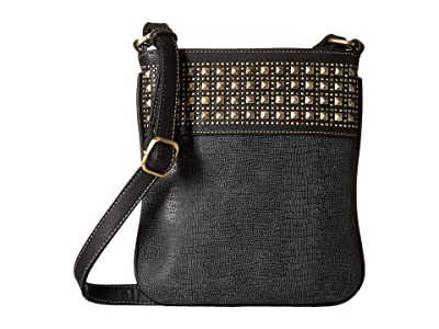 M&F Western Avril Crossbody Bag (Grey) Cross Body Handbags