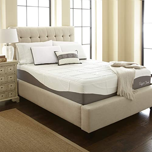 Perfect Cloud Elegance Memory Foam Mattress (King) - 12-inches Tall - Features